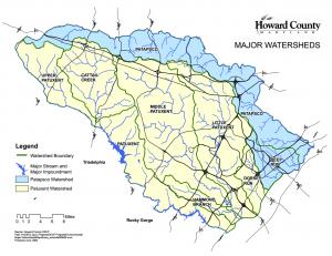 Howard County Major Watersheds
