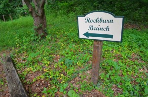 Rockburn Branch sign